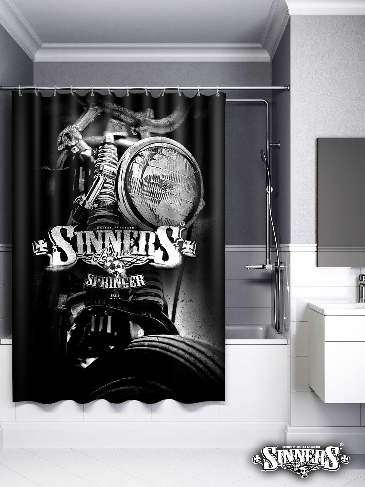 "Shower Curtain ""SPRINGER"""