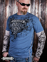 "Mens Long Sleeve Shirt ""Victory"""