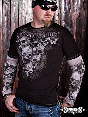 "Man's Long Sleeve Shirt ""Crypt"""