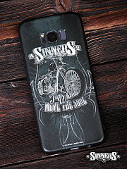 "Case for Smartphones SAMSUNG ""Two Wheels Move the Soul"""