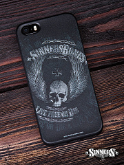 "Case for iPhone ""Live Free or Die"""