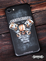 "Case for Smartphone for iPhone ""Blood, Sweat, Gears"""