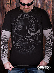 "Men's Long Sleeve Shirt ""Motorcycles Service"""