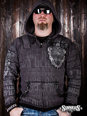 "A mens hoodie ""Si Vis Pacem, Para Bellum"" with the biggin"