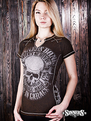"Women's T-Shirt ""MADE in GARAGE"""