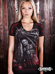"Womens T-shirt ""Welcome to Hell"""