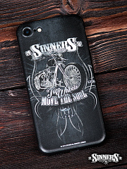 "Case for Smartphone for iPhone ""Two Wheels Move the Soul"""