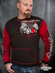 "A Men's Hoodie ""Built for Speed"""