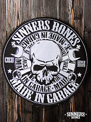 "Big patch ""MADE in GARAGE"""