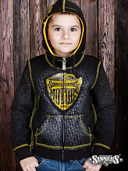 "Children's Hoody ""MOTORS"" with the biggin"