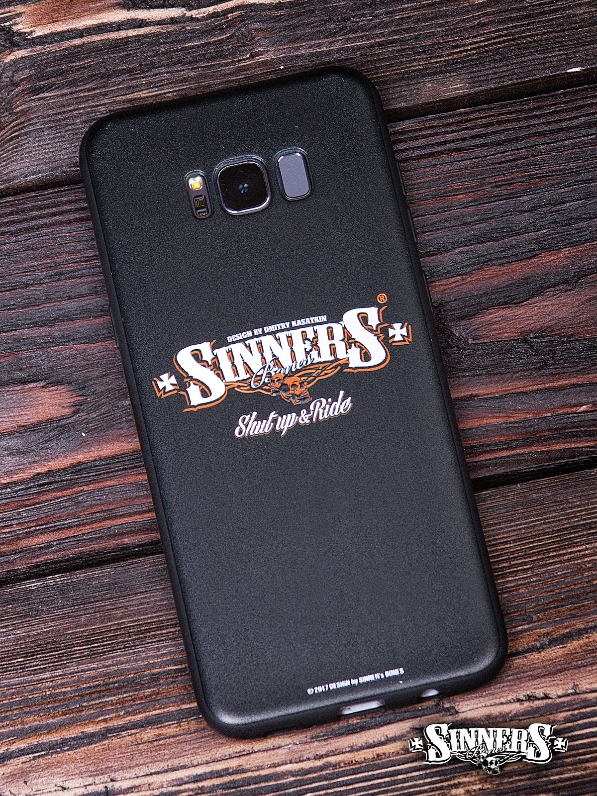 "Case for SAMSUNG ""SINNER's BONES"""