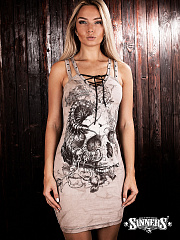 "Women's Dress ""Death by Scolopendra"""