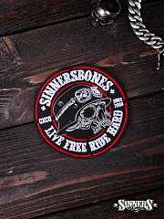 "Patch ""Live Free Ride Hard"""
