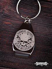 "Keychain Bottle Openers ""MADE in GARAGE"""