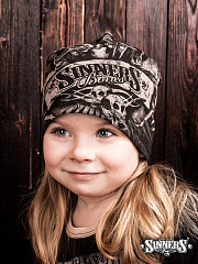 "Winter Childrens Hat ""SINNER's BONES"""