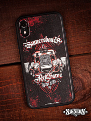 "Case for iPhone ""HOT ROD - RED BARON"""