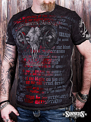 "Man's T-Shirt ""Blood Ritual"""