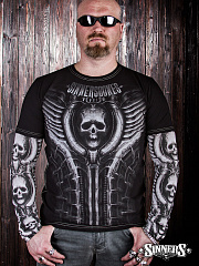 "Men's Long Sleeve Shirt ""REQUIEM"""