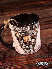 "Ceramic Mug ""Blood, Sweat, Gears"""