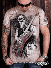 "Men's T-shirt ""Cowboy From Hell"""
