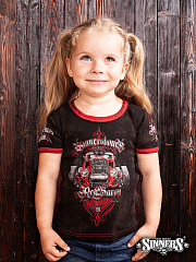 "Kids T-Shirt ""HOT ROD - RED BARON"""