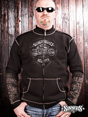 "Men's Sweatshirt ""HELLRIDER"""