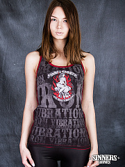 "Women's A-Shirt ""Love Iron Vibrations"""