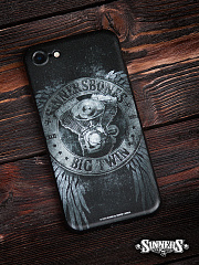 "Case for Smartphone for iPhone ""Big Twin"""