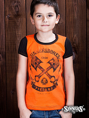 "Kids T-Shirt ""PISTONS"""