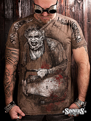 "Men's T-Shirt ""Leatherface"""
