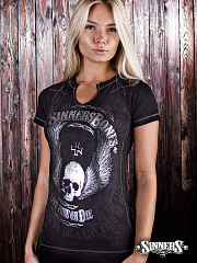 "Women's T-Shirt ""Live Free or Die"""