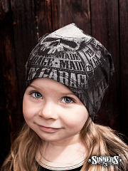 "Winter Childrens Hat ""MADE in GARAGE"""